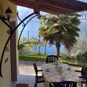 Appartamento Lago di Garda 2-4 persone Brenzone Fasor- Vista Lago