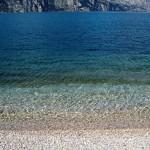 Am Gardasee nur Kiesstrand