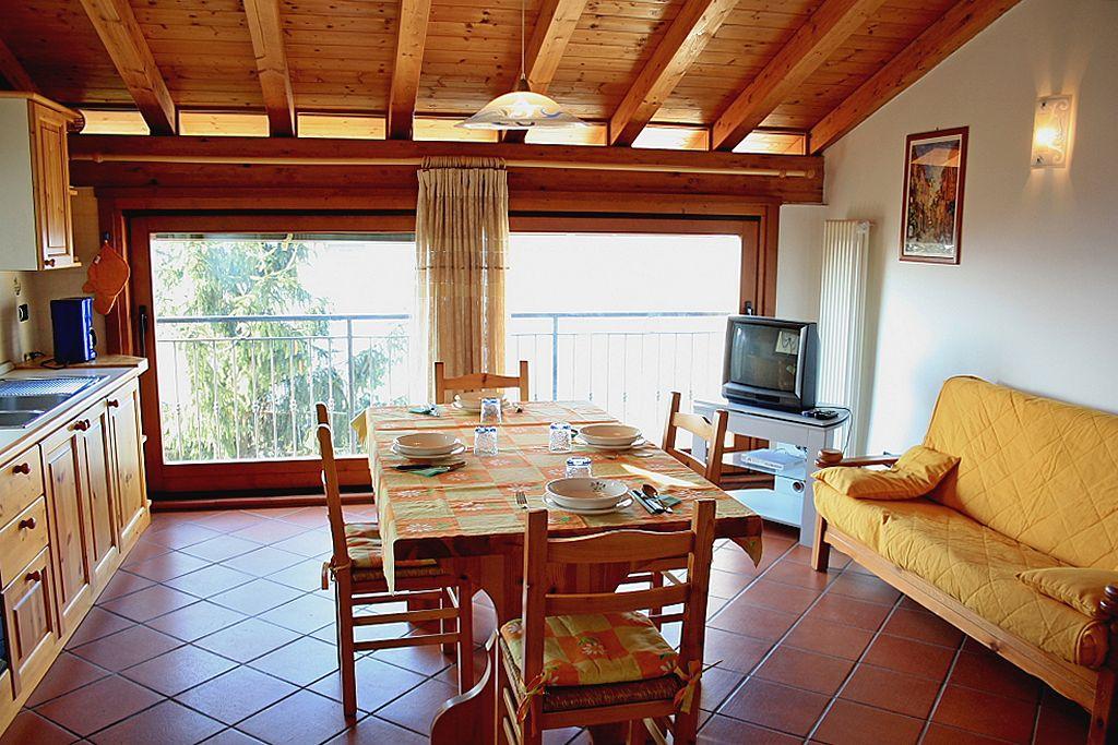 Appartamento Tipo C Trilocale Casa Fasor - Vista sala da pranzo